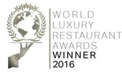 World Luxury Restaurant Awards Winner 2016